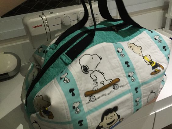 Bolsa Snoopy by Pati e Quitanda de Pano