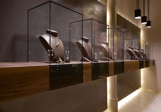 Leo Pizzo jewelry boutique by Diego Bortolato Architetto, Milan #jewelry