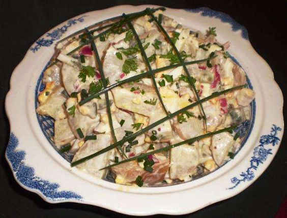 Red Skin Dill Potato Salad