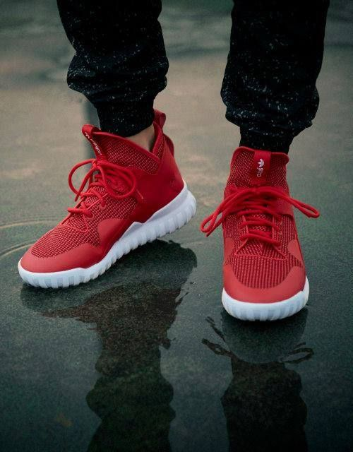 """unstablefragments2: """" adidas Tubular X (via Kicks-daily.com) """" /// Find more adidas sneakers, here."""