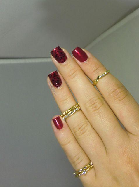 Beautiful knuckle rings set.