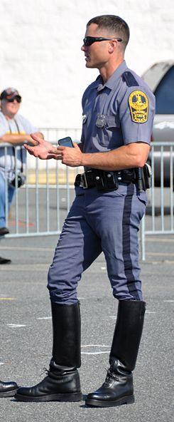 Bottes de police sexe