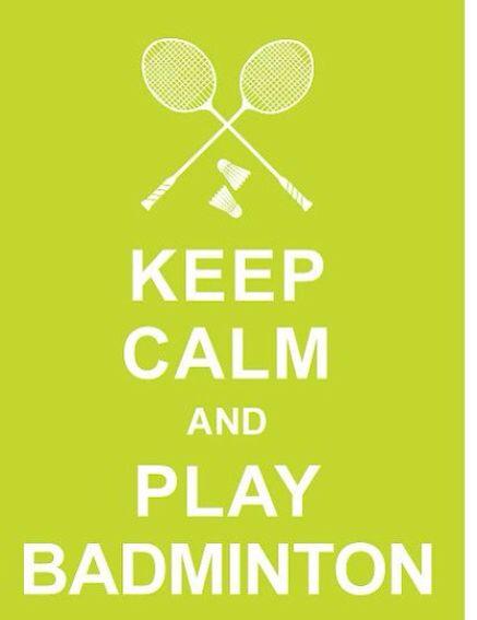 Love badminton so much!!