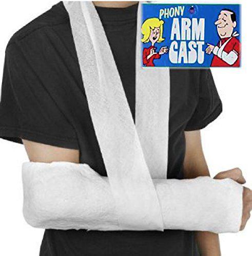 how to make fake armcast