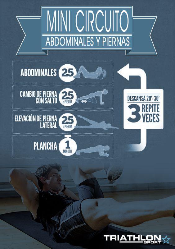 Un rutina para principiantes para tonificar los músculos de los abdominales y las piernas, que lo puedes trabajar en la comodidad de tu casa.