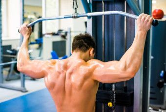 Behind Head Lat Pulldowns: