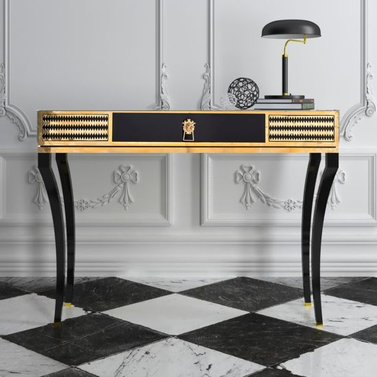 High End Decorative Black Console Table Modern Console Tables