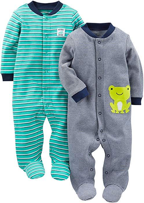 Simple Joys by Carters Baby Boys 3-Pack Jumpsuits