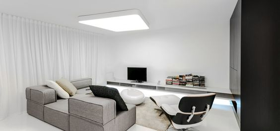 Expressive Futuristic Shapes Displayed by Functional Modern Loft in Bratislava