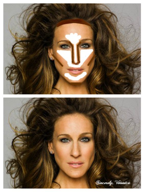 Highlight and contour oblong face beauty pinterest contours highlight and contour oblong face beauty pinterest contours face and make up ccuart Gallery