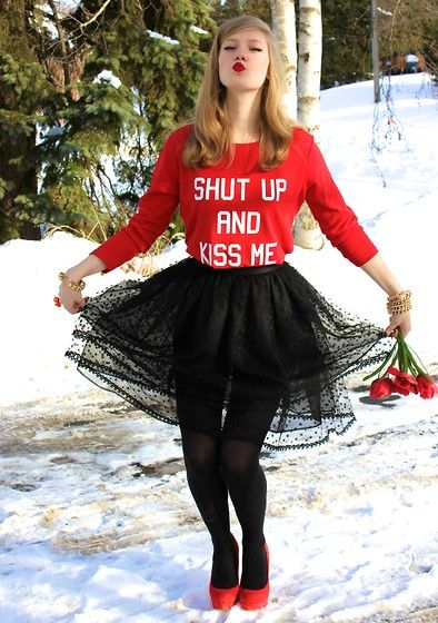 Steve Madden, Lia Sophia, American Apparel - SHUT UP AND KISS ME - Sydney Hoffman