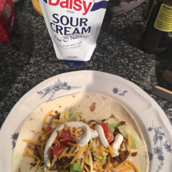 Turkey soft tacos #dollopofdaisy #contest #gotitfree @influenster @dasiysourcream