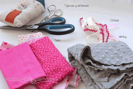 Mantita de apego para bebé: tutorial