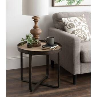 Mcgowen 2 Piece End Table Set In 2020 Living Room End Table Decor Table Decor Living Room Side Table Decor