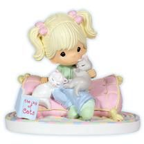 Home Is Where My Cats Are -Precious Moments figurine