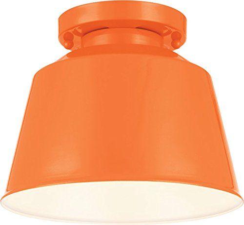 Feiss SF314SHOG, Freemont Round Semi Flush Ceiling Lighting, 1 Light, Orange Feiss http://www.amazon.com/dp/B00I2VGY90/ref=cm_sw_r_pi_dp_3u.vvb062HK3W