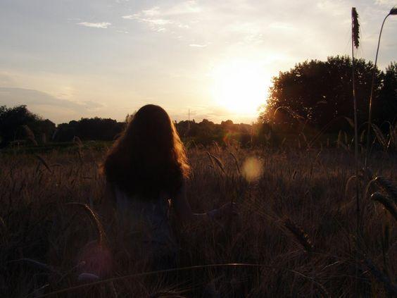 Sonnenuntergang :) durchatmen Natur genießen
