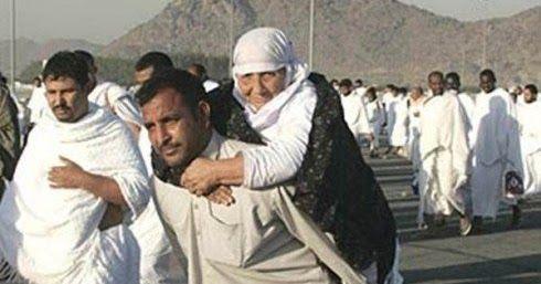 #HeyUnik  Kisah Mengharukan Seorang Laki-laki yang Menggendong Ibunya #Link #YangUnikEmangAsyik