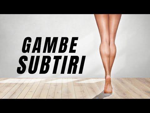 exercitii pentru slabit gambe
