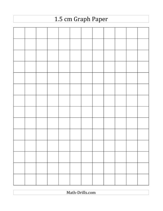 1 cm Graph Paper with Black Lines (A4 Size) (A) Math Worksheet - graph paper word document