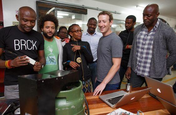 Le PDG de Facebook en voyage à Nairobi pour assister en direct à l'innovation kenyane