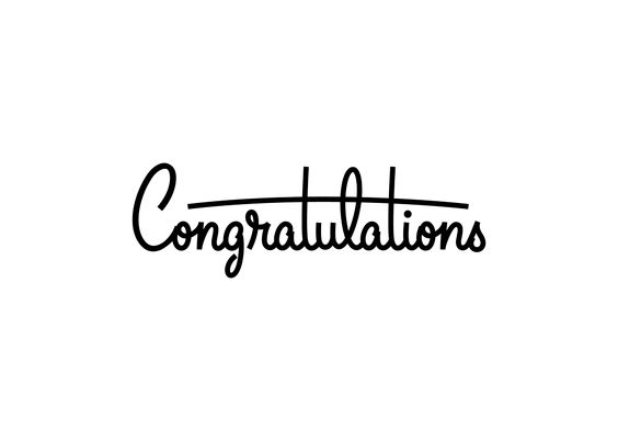 Browse all of the Congratulations photos, GIFs and videos Find - congratulation letter