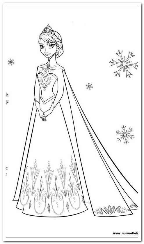 31 Coloring Pages A Coloring Page Elsa Coloring Pages Frozen Coloring Pages Frozen Coloring