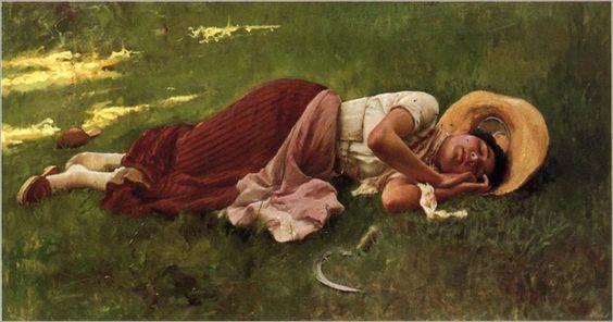 """Siesta"". (by Duveneck Frank)."
