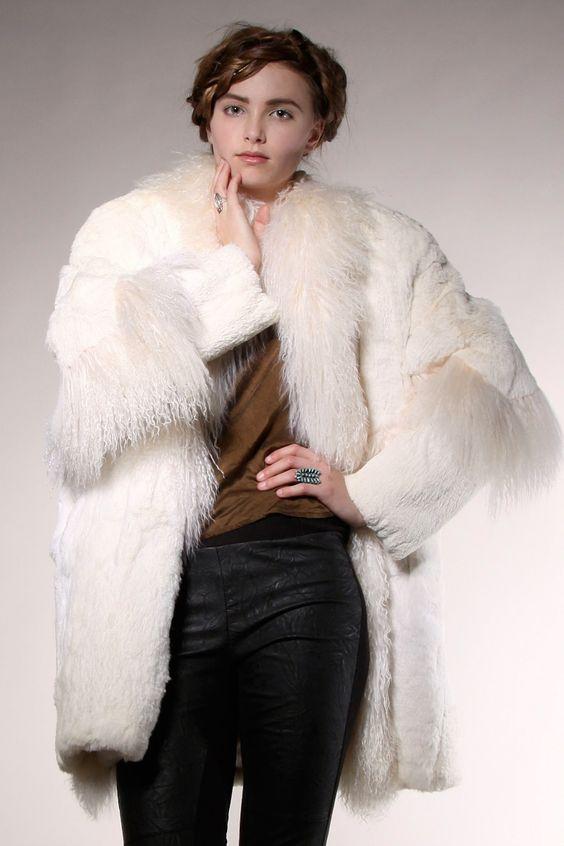 Tibetan Lamb Fur Coat | Thrifted & Modern | Vintage Garb
