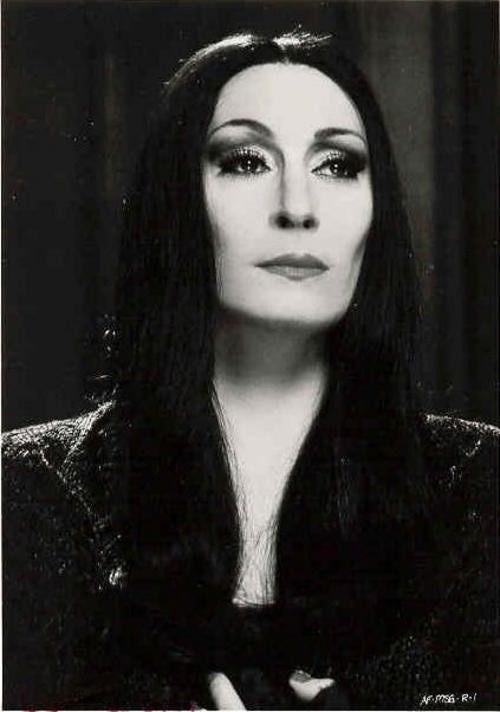 Anjelica Huston as Morticia - 'The Addams Family', 1991.