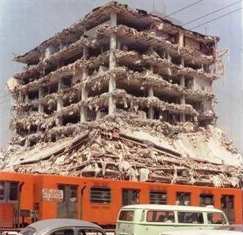 Tlalpan, Avenida san Antonia Abad, cerca del metro Chabacano (Ciudad de México 1985)