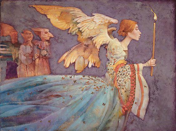 James C. Christensen - Angel: