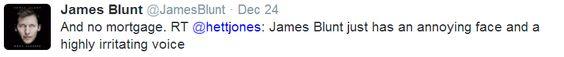 James Blunt.