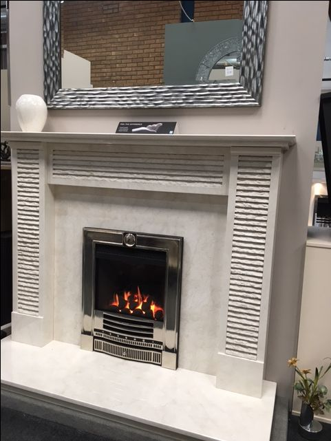 Our San Rocco In Bianco Persiano Marble At Fireplace Superstore In