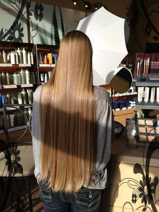 One Daily Dose For Instant Hair Results Long Hair Styles Long Straight Hair Straight Hairstyles