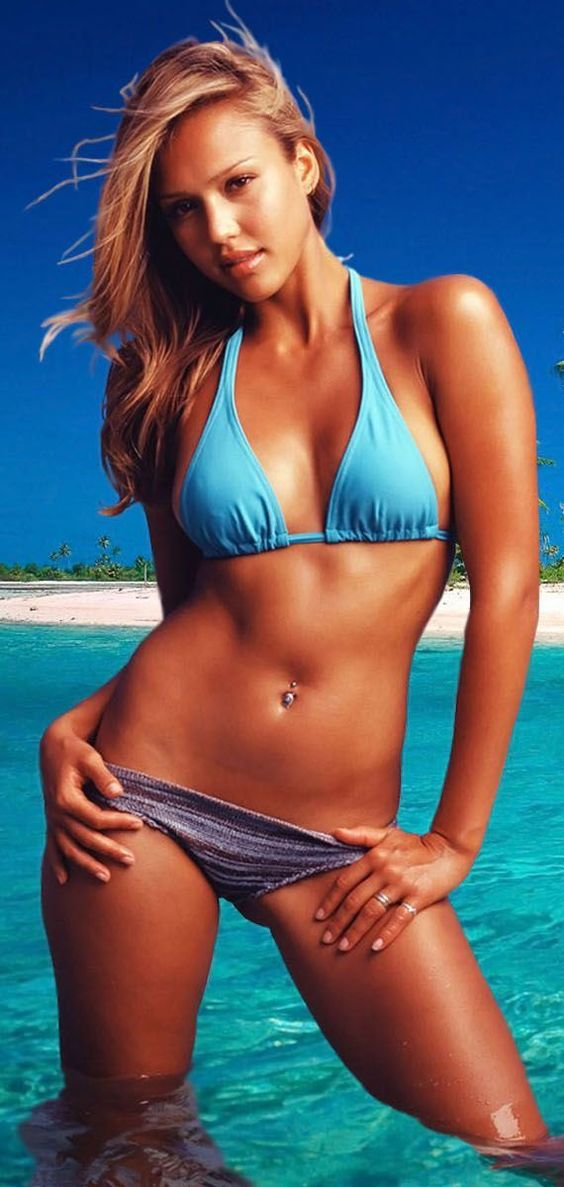 Opinion you jessica alba blue bikini variants