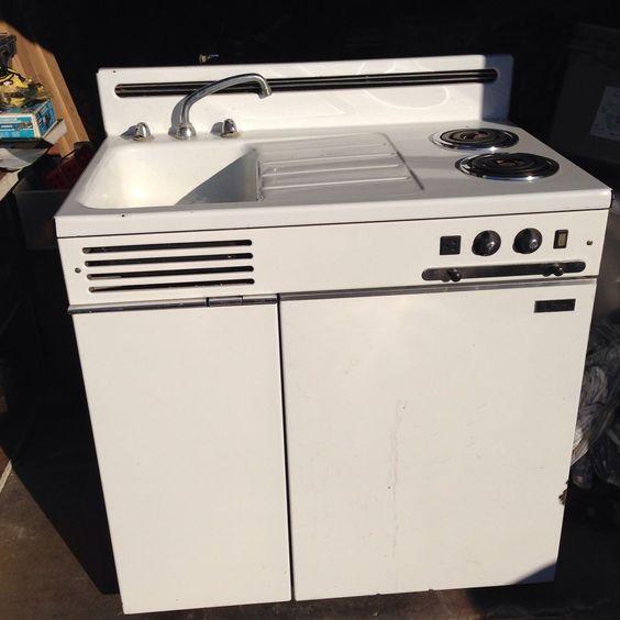 Refrigerator Cabinet, Kitchenettes And Refrigerators On