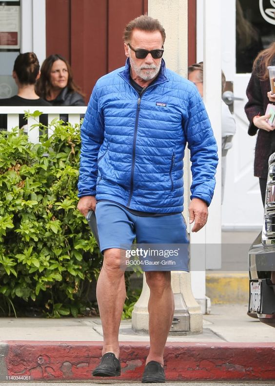 News Photo : Arnold Schwarzenegger is seen on April 30, 2019...
