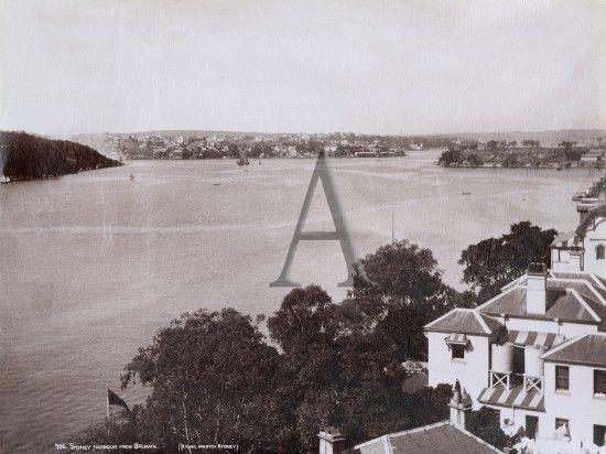 Sydney Harbour From Balmain Vintage Photographs Antique Prints Beautiful Photography