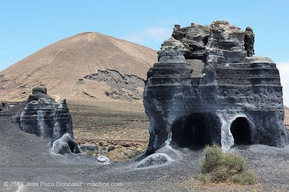 Foto de Teguise, Lanzarote, España - Erosion Milenaria