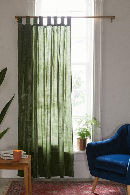 Mid Century Modern Wood Curtain Rod In 2020 Urban Outfitters Curtains Curtains Window Curtains