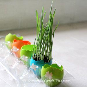easter egg planter