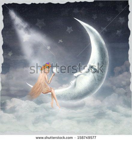 Crescent Moon Stock Photos, Crescent Moon Stock Photography, Crescent Moon Stock Images : Shutterstock.com