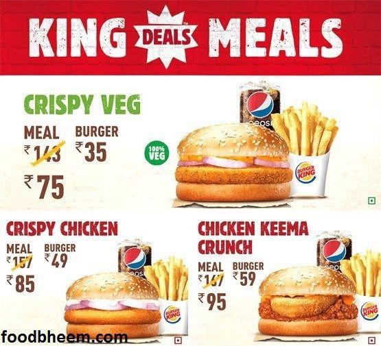 Burger King Hitech City Menu Burger Best Foods Burger King
