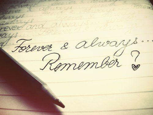 Remember?