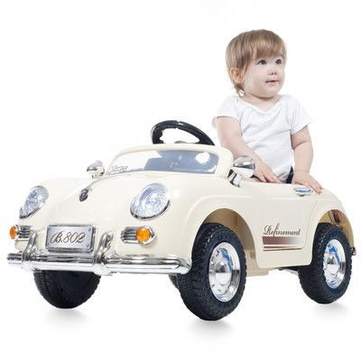 Speedy Sportster 6V Battery Operated Car with Remote