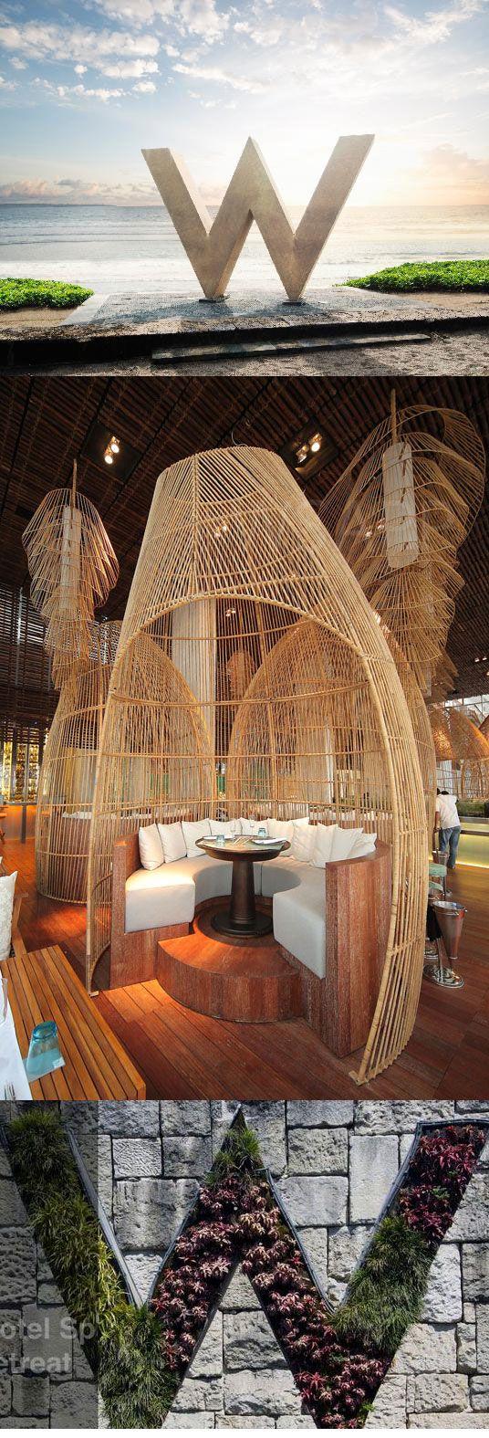 W retreat spa bali plage de seminyak go here for a day for W hotel bali interior design