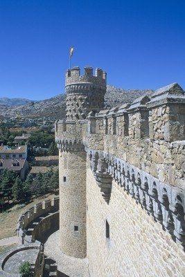 El Castillo de Manzanares el Real SXV