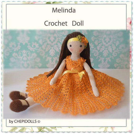GEHÄKELTE Puppe fertigen Puppe Sammler Puppe von chepidolls auf Etsy