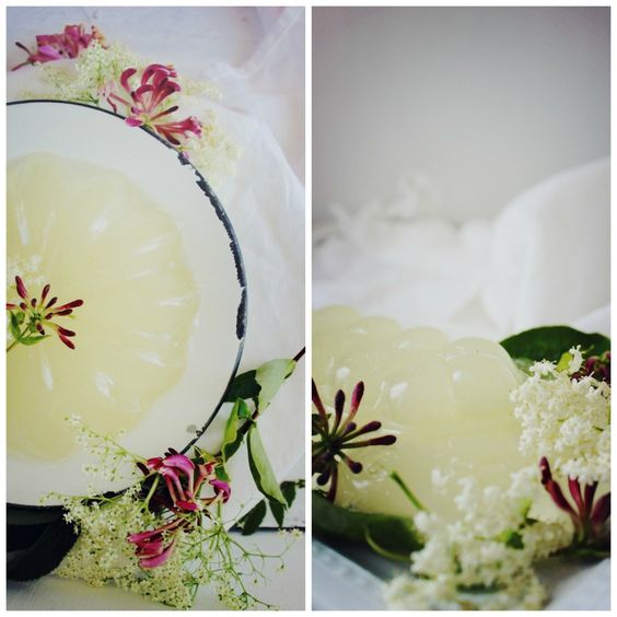 elderflower + honeysuckle jelly by farmette
